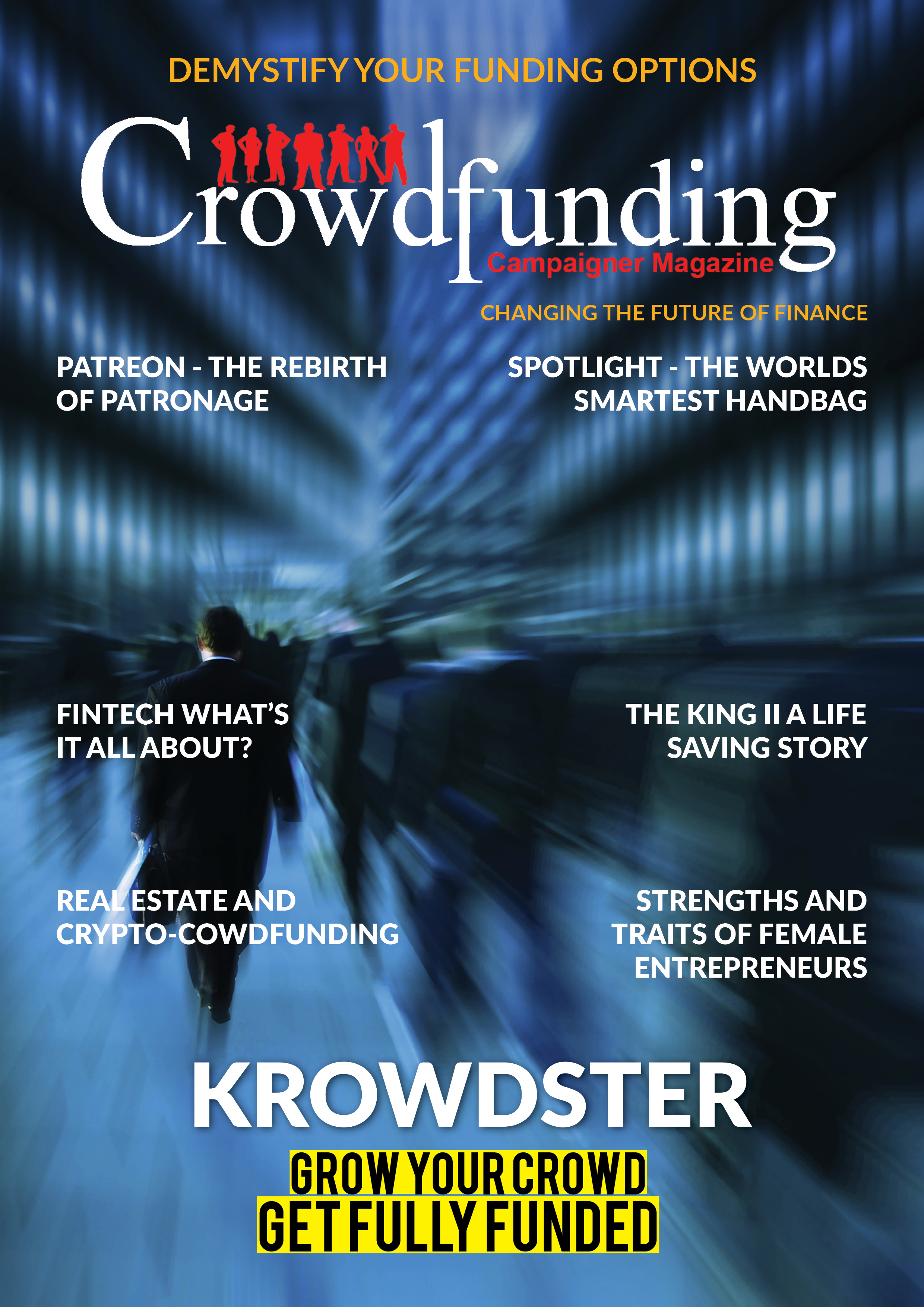 crowdfunding campaigner magazine
